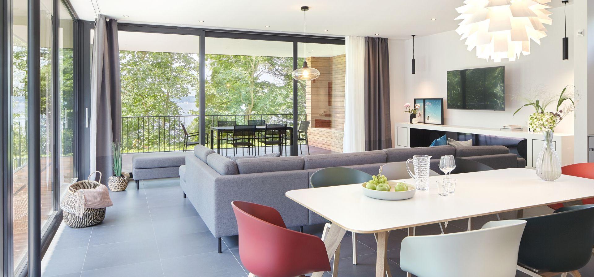 ferienhaus gl cksburg ostsee gl ck in sicht lodges. Black Bedroom Furniture Sets. Home Design Ideas